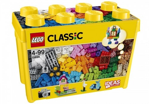 LEGO®Classic Grosse Bausteine-Box 10698