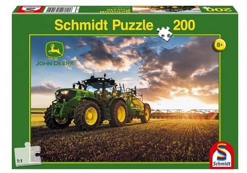 Puzzle Traktor mit Güllfass 200 Teile
